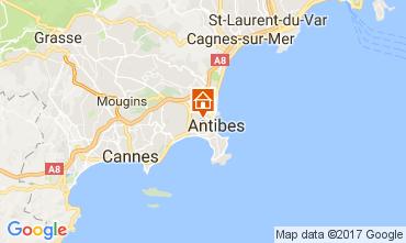 Kaart Antibes Appartement 107906