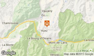 Kaart Alpe d'Huez Appartement 89990