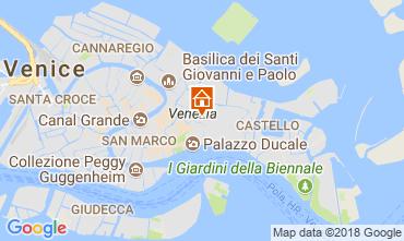 Kaart Venetië Appartement 113527