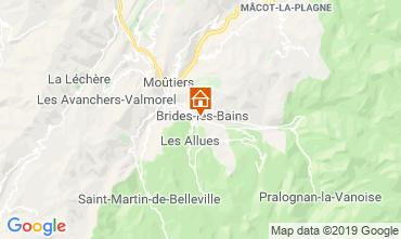 Kaart Brides Les Bains Appartement 4914