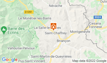 Kaart Serre Chevalier Chalet 2931