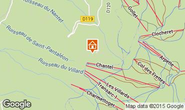 Kaart Les Arcs Appartement 89727