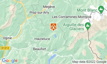 Kaart Les Saisies Appartement 17088