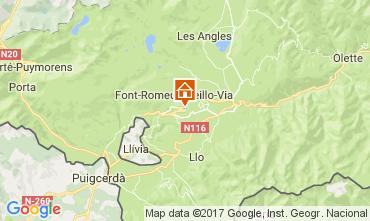 Kaart Font Romeu Appartement 15696