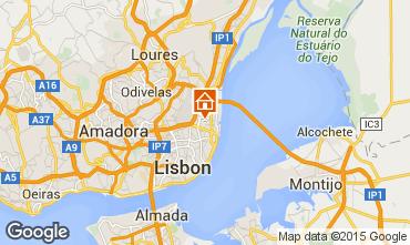 Kaart Lissabon Appartement 80032