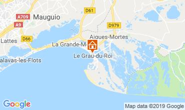 Kaart Le Grau du Roi Appartement 117986