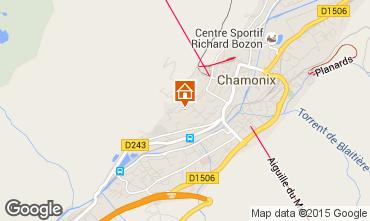 Kaart Chamonix Mont-Blanc Appartement 663