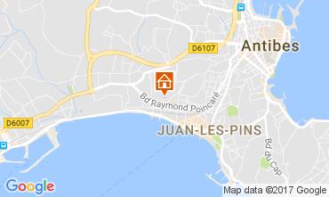 Kaart Juan les Pins Appartement 112158