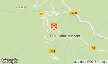 Kaart Puy Saint Vincent Studio 2397