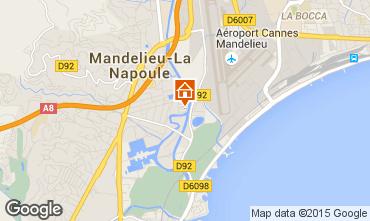 Kaart Mandelieu la Napoule Studio 65092