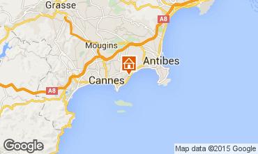 Kaart Cannes Appartement 24962