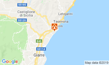 Kaart Taormina Studio 26172