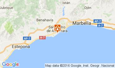 Kaart Marbella Villa 11384
