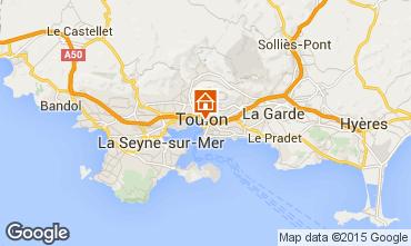 Kaart Toulon Appartement 101185