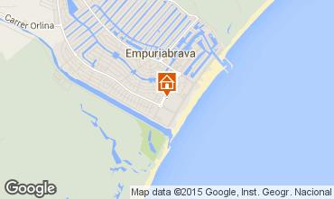 Kaart Empuriabrava Appartement 53422