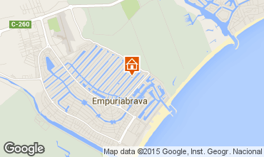 Kaart Empuriabrava Villa 68826