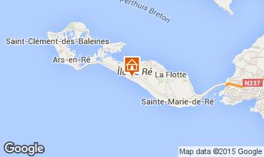 Kaart Le Bois-Plage-en-Ré Huis 73424