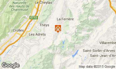 Kaart Les Sept Laux Studio 89817