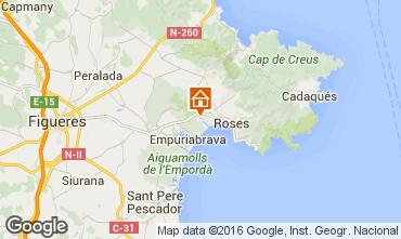 Kaart Rosas Villa 96439