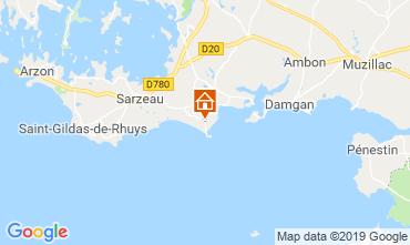 Kaart Sarzeau Bungalow 62983