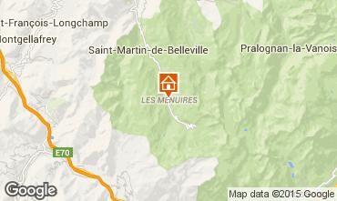 Kaart Les Menuires Appartement 15411
