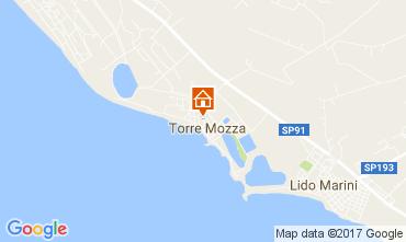 Kaart Torre Mozza Appartement 108068