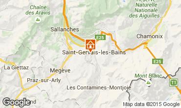 Kaart Saint-Gervais-les-Bains Studio 86819