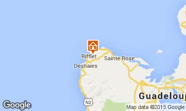 Kaart Deshaies Vakantiehuis 73814