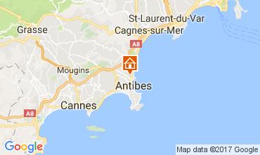 Kaart Antibes Villa 110758