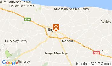 Kaart Bayeux Vakantiehuis 78802