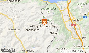 Kaart La Chapelle d'Abondance Appartement 68203