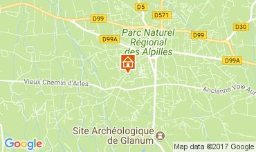 Kaart Saint Rémy de Provence Huis 112732