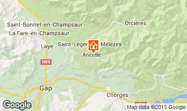Kaart Ancelle Chalet 68591