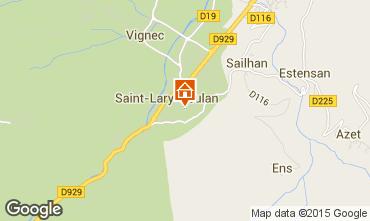 Kaart Saint Lary Soulan Appartement 61229