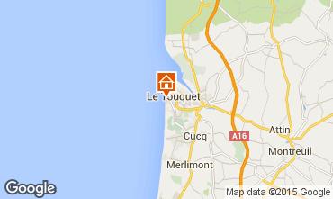 Kaart Le Touquet Studio 30785