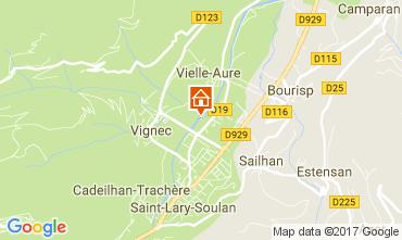 Kaart Saint Lary Soulan Appartement 112136