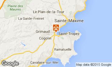 Kaart Saint Tropez Appartement 5689