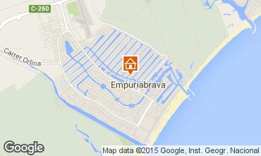Kaart Empuriabrava Villa 92908