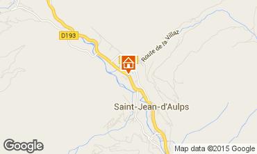 Kaart Saint Jean d'Aulps- La Grande Terche Chalet 70306
