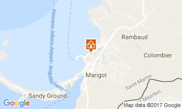 Kaart Marigot Appartement 108399