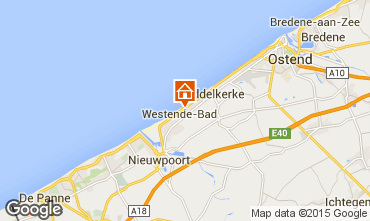 Kaart Middelkerke Bungalow 91436