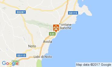 Kaart Avola Villa 109708