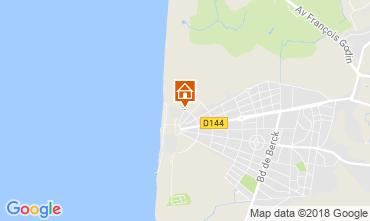 Kaart Le Touquet Appartement 112814