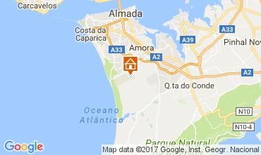 Kaart Lissabon Villa 64362