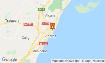 Kaart Vinaròs Villa 103036