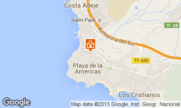 Kaart Playa de las Américas Studio 70234