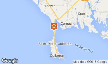 Kaart Saint Pierre Quiberon Appartement 73569