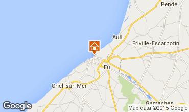 Kaart Mers Les bains Villa 93323
