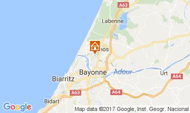 Kaart Bayonne Villa 108315