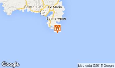 Kaart Sainte Anne (Martinique) Studio 78983